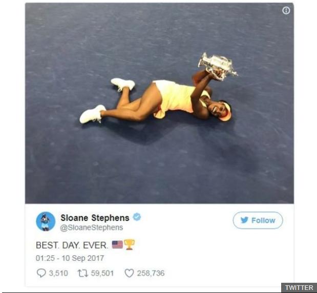 Stephens reconoció que el sábado fue el mejor día de su vida. (Foto Prensa Libre: BBC Mundo)