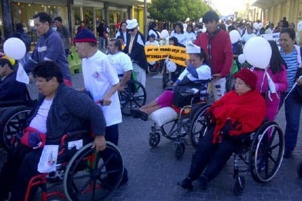 Las personas con discapacidad en Guatemala sufre de discriminación refleja informe de Comité de Naciones Unidas (Foto Prensa Libre: Hemeroteca PL).