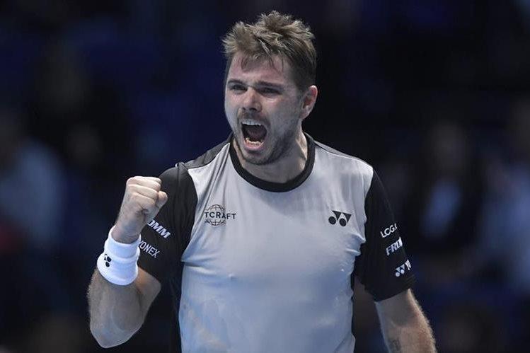El tenista suizo Stan Wawrinka se impuso este miércoles al croata Marin Cilic -7-6 (7/3) y 7-6 (7/3). (Foto Prensa Libre: AFP)