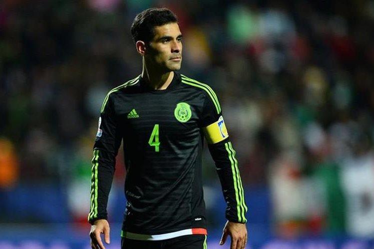 El defensa mexicano Rafael Márquez fue operado en Estados Unidos. (Foto Prensa Libre: Hemeroteca)