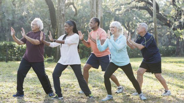 """""""La gente me pregunta si hay una solución mágica para los problemas de memoria y yo les digo que sí: se llama ejercicio"""".  GETTY IMAGES"""