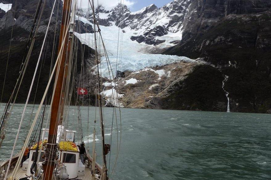 Expedición que imita la vuelta al mundo de Magallanes cumple un año en el mar. (Foto Prensa Libre: EFE).