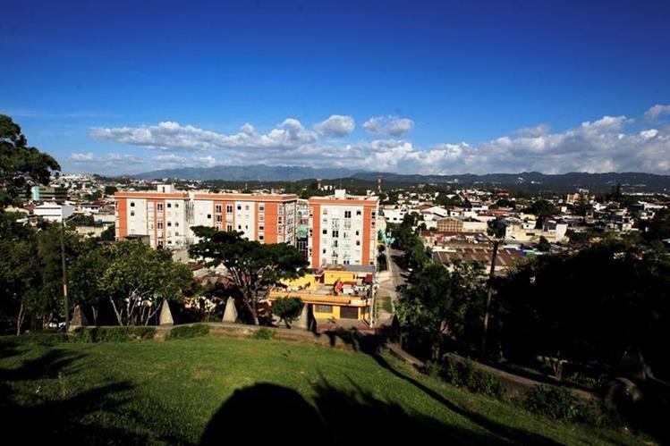 Vista panorámica del Barrio Moderno, primer lugar donde se trasladó la ciudad capital.(Foto Prensa Libre: Edwin Bercián)