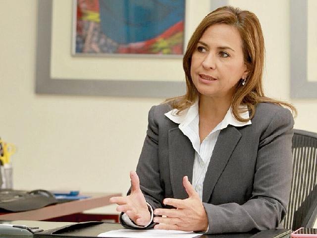 Mirella Juárez, presidenta de la Asociación de Empresas de Leasing de Guatemala. (Foto Prensa Libre: Estuardo Paredes)