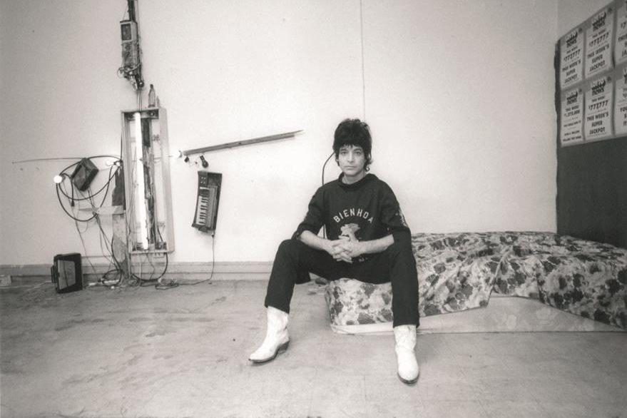 Alan Vega fundó Suicide en la década de 1970. (Foto Prensa Libre: HemerotecaPL).