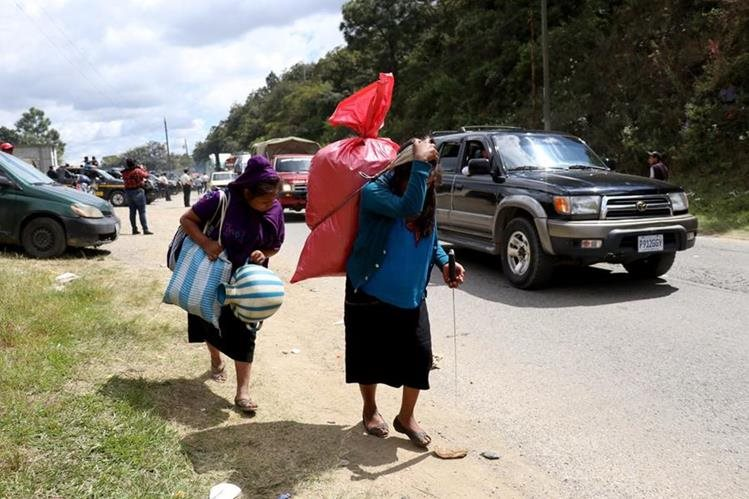 Huehuetenango es el segundo departamento con mayor población del país, pero la mayoría vive en zonas rurales en pobreza y extrema pobreza. (Foto Prensa Libre: Mike Castillo)