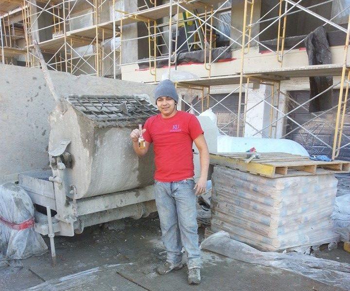 En Kansas, EE.UU. el joven se dedicaba a los trabajos de construccion. (Foto Prensa Libre: Cortesía)