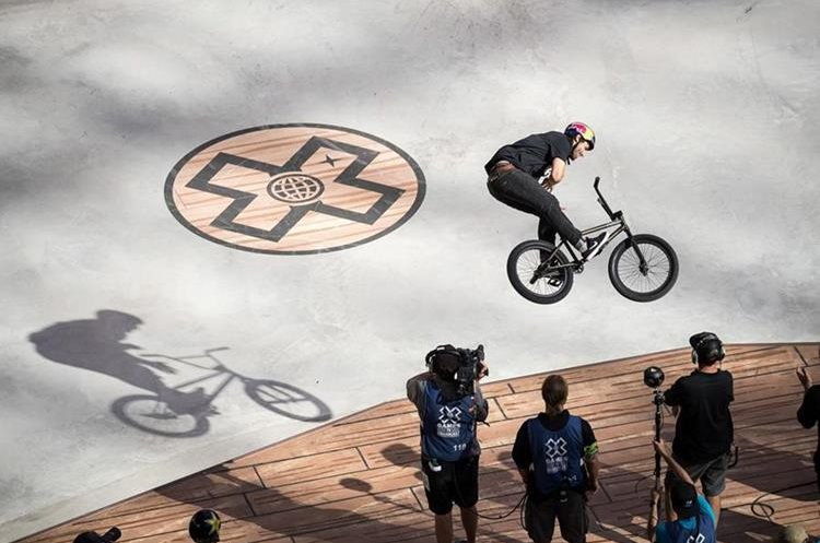 Garrett Reynolds también compitió en los juegos de Austin 2016. (Foto Prensa Libre: X Games)