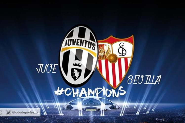 Juventus y Sevilla juegan uno de los duelos más interesantes de esta jornada de Champions. (Foto Prensa Libre: TodoDeportes)
