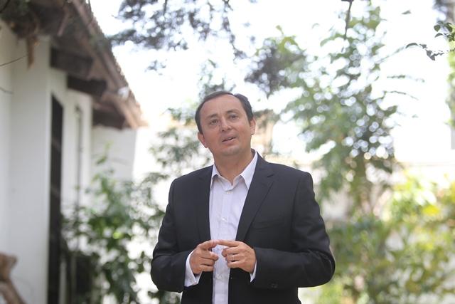 González participó en 2011 como candidato a alcalde por Guatemala. (Foto Prensa Libre: Esbin García)