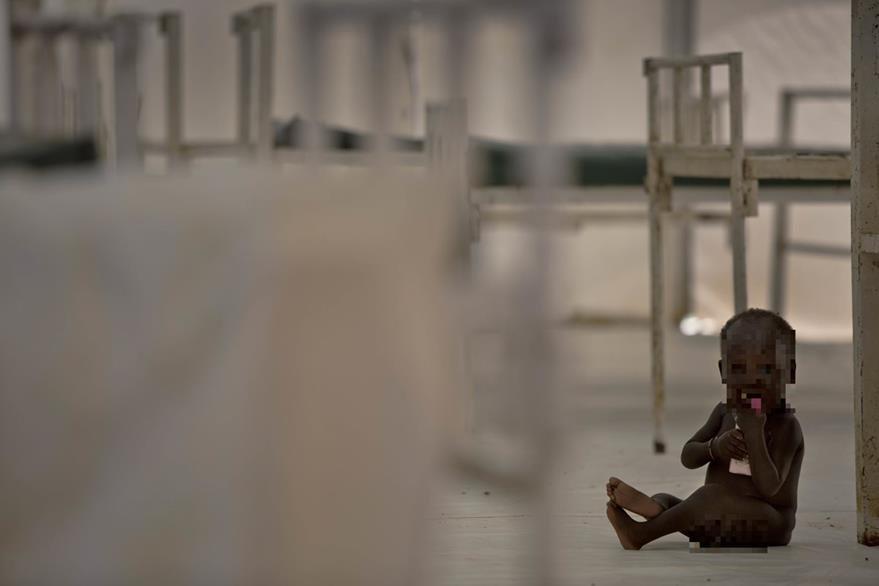 Los niños que habitan en naciones en conflicto están en grave riesgo por la hambruna. (Foto Prensa Libre: AP).