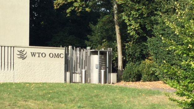 La Organización Mundial del Comercio está basada en Ginebra.