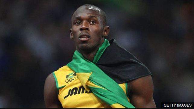 Usain Bolt estaba siendo entrevistado tras imponer el récord mundial de los 100 metros, en los Juegos Olímpicos de Londres 2012.