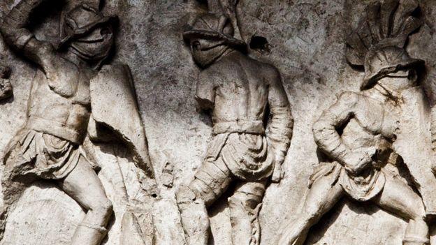 En el siglo I, la arena fue escenario de combates entre gladiadores. ALESSANDRA BENEDETTI