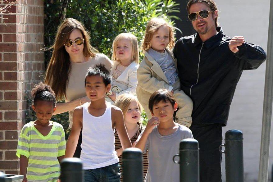 La pareja tiene seis hijos, tres de ellos adoptados. (Foto: Hemeroteca PL).