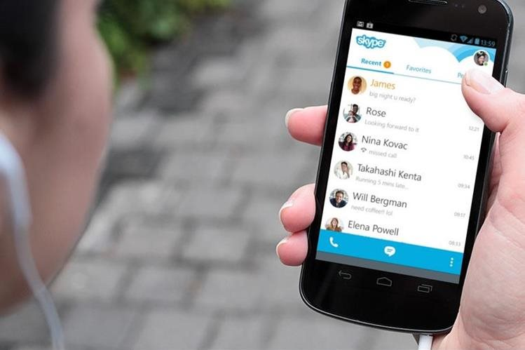 La nueva versión 5.10 de Skype permitirá configurar rigntone y compartir de forma fácil fotografías. (Foto Prensa Libre: Hemeroteca PL).