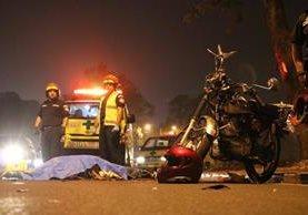 Los accidentes en moto han dejado a varios lesionados de por vida.(Foto Prensa Libre: Hemeroteca PL)
