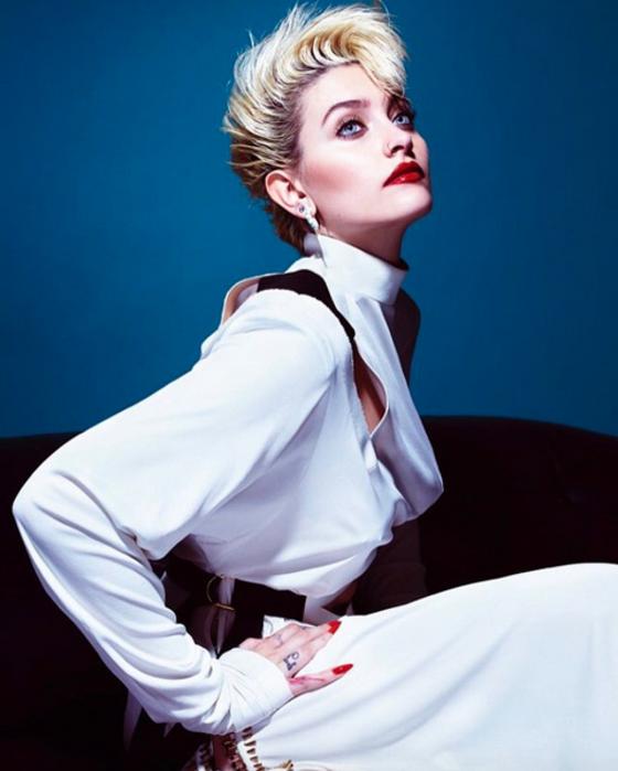 La hija del Rey del Pop recientemente firmó un contrato con la empresa IMG Models. (Foto Prensa Libre: Tomada de internet).