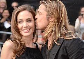 Jolie y Pitt habían estado casados con, y divorciado de, estrellas antes. (PA)