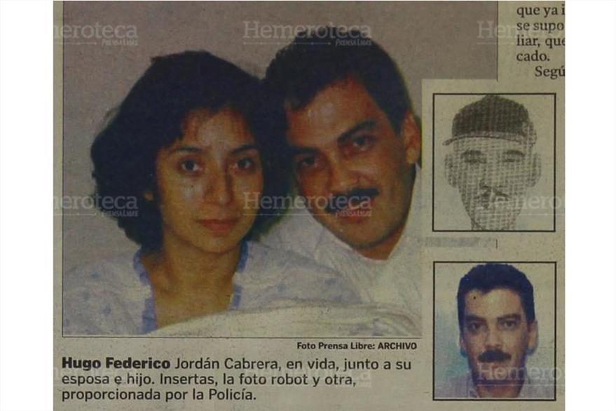 6/10/2006 Hugo Federico Jordán,  participante en el robo, junto a su esposa e hijo. Jordán apareció muerto el 27 de septiembre de ese año. (Foto: Hemeroteca PL)