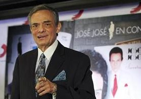 José José supervisó la producción para contar su vida, éxitos y fracasos (Foto Prensa Libre: EFE).