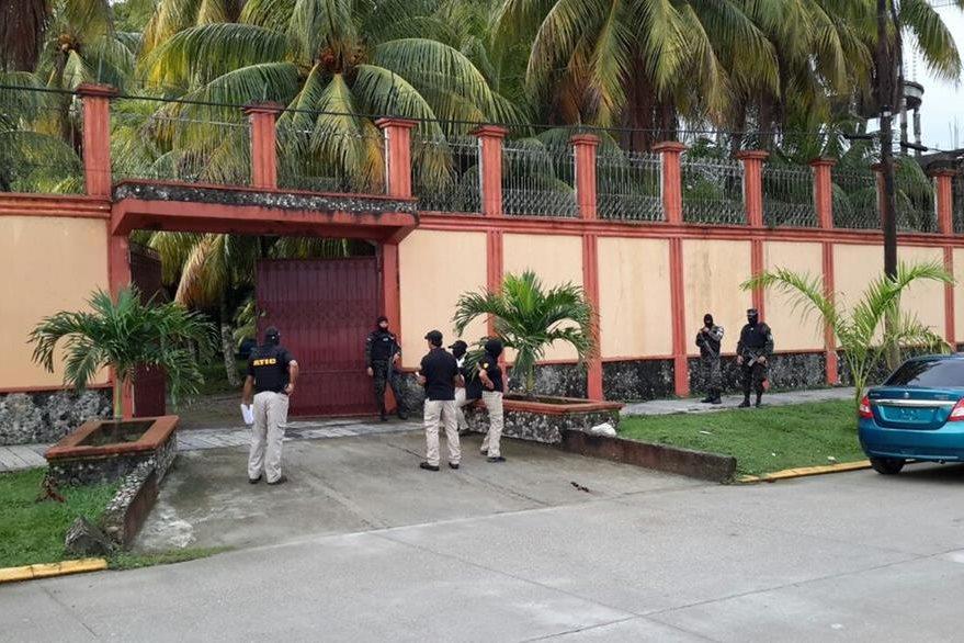 La Operación Avalancha de las autoridades hondureñas dio como resultado el decomiso de lujosas viviendas como ésta.  (Foto Twitter/@MP_Honduras).