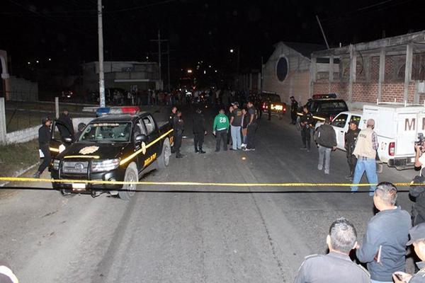"""<p>Un autopatrulla fue atacado este domingo en la entrada de la cabecera de Jalapa.<br _mce_bogus=""""1""""></p>"""