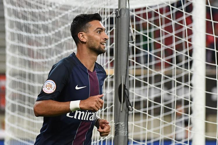 Javier Pastore no ha tenido su mejor temporada con el París SG, por lo que ha ofrecido disculpas a la afición. (Foto Prensa Libre: AFP)