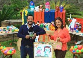 Gustavo Cotí y su esposa Eugenia, decidieron unir sus vidas y el amor por desarrollar la creatividad en los más pequeños de la familia.