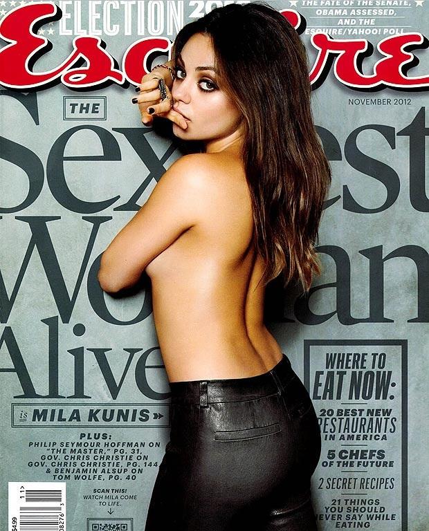 La actriz es una de las mujeres más sensuales, según la revista Esquire. (Foto Prensa Libre: Esquire)