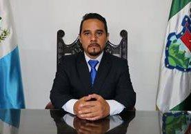 Edwin Renato Marroquín es el nuevo gobernador de Sacatepéquez. (Foto Prensa Libre: Julio Sicán).