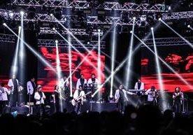 El grupo mexicano puso a bailar a los guatemaltecos en el Fórum Majadas.