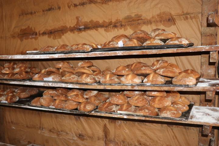 La tradición de elaborar pan es especial en la provincia.