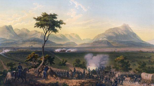 La guerra mexicano-norteamericana ocurrió entre 1846 y 1848. GETTY IMAGES