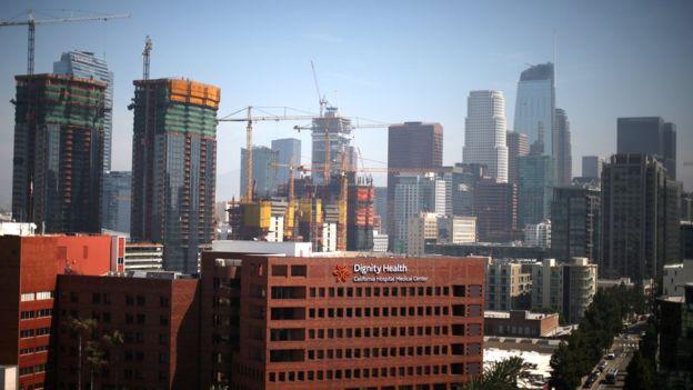 Las autoridades de Los Ángeles intentan mejorar la imagen del centro de la ciudad. REUTERS
