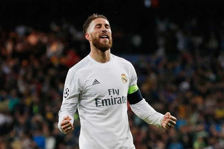 El capitán Sergio Ramos se unió este lunes a los entrenamientos del Real Madrid. (Foto Prensa Libre: Hemeroteca)