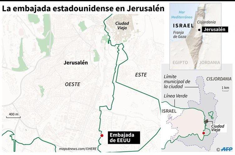 Las protestas en Gaza dejan al menos 41 palestinos muertos
