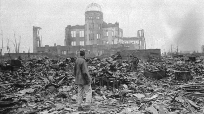 La bomba atómica fue lanzada sobre Hiroshima por orden del presidente de EE. UU. Harry Truman. (Foto: Internet)