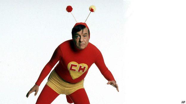 El Chapulín Colorado es un héroe creado por Roberto Gómez Bolaños, más conocido como Chespirito, en la década de los 70. (Foto Prensa Libre: BBC).