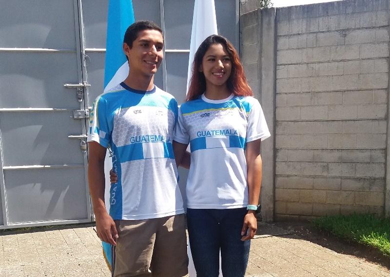 Diego Barrera y Dalia Soberanis se ganaron el derecho a participar en el mundial de velocidad de patinaje en Naijing. (Foto Asociación de Patinaje).