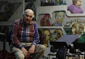 Irwin Hoffman tiene 92 años y sigue disfrutando plenamente de la música y su papel como recreador de los grandes compositores clásicos. (Foto Prensa Libre: Paulo Raquec).