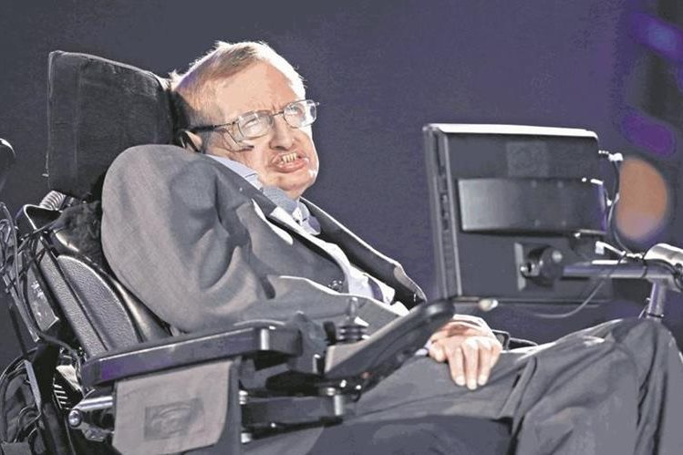 Stephen Hawking, prominente científico británico. (Foto: Hemeroteca PL)