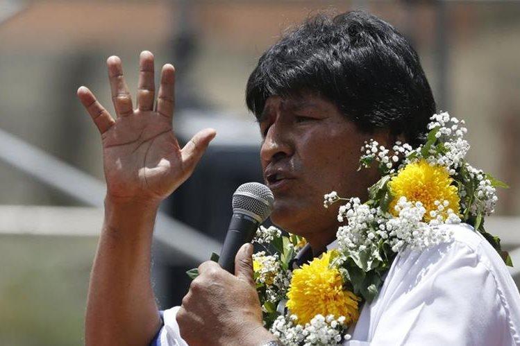 Evo Morales, presidente de Bolivia, arremete contra las redes sociales. (Foto Prensa Libre: AP).