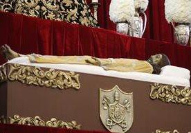 Están expuestas las imágenes de pasión en la iglesia Santo Domingo.