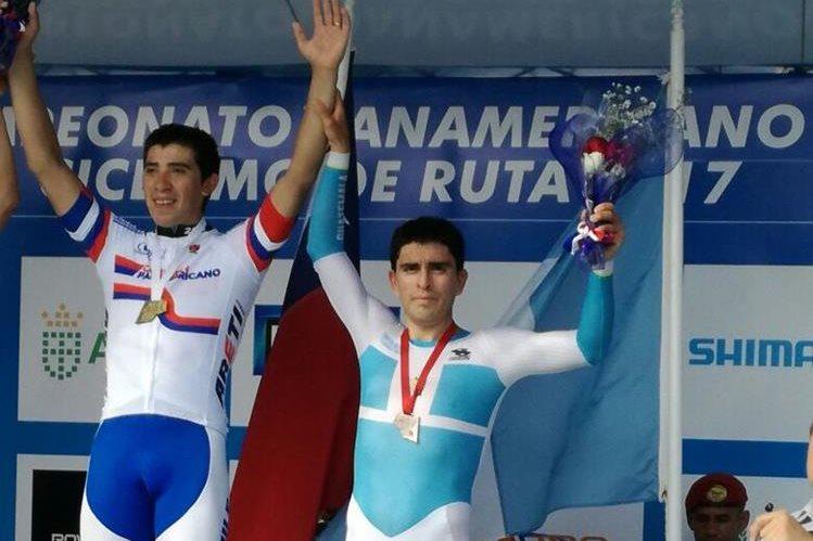 Matías Muñoz logra oro en Panamericano de Ruta Sub 23