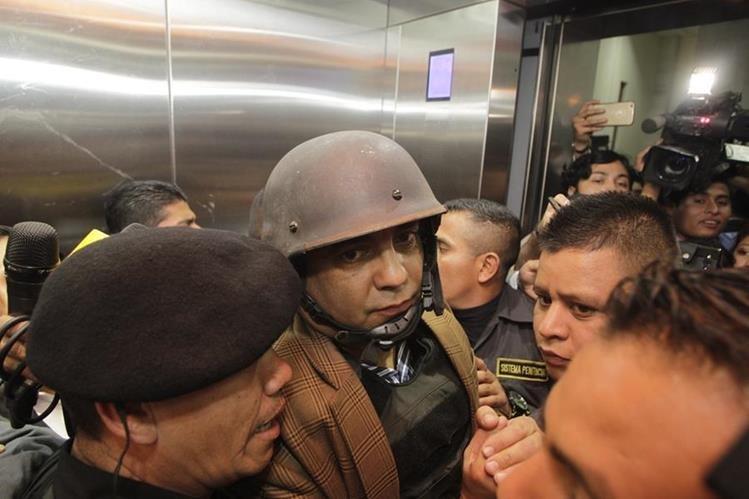 Juan Carlos Monzón ha acudido con frecuencia al MP en las últimas semanas. (Foto Prensa Libre: Hemeroteca PL)