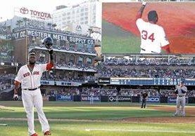David Ortiz es uno de los grandes ídolos de las grandes ligas. (Foto Prensa Libre: Hemeroteca PL)
