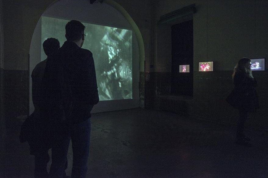 Las películas del artista argentino son proyectadas en la exposición (Foto Prensa Libre: Cortesía Leandro Katz).