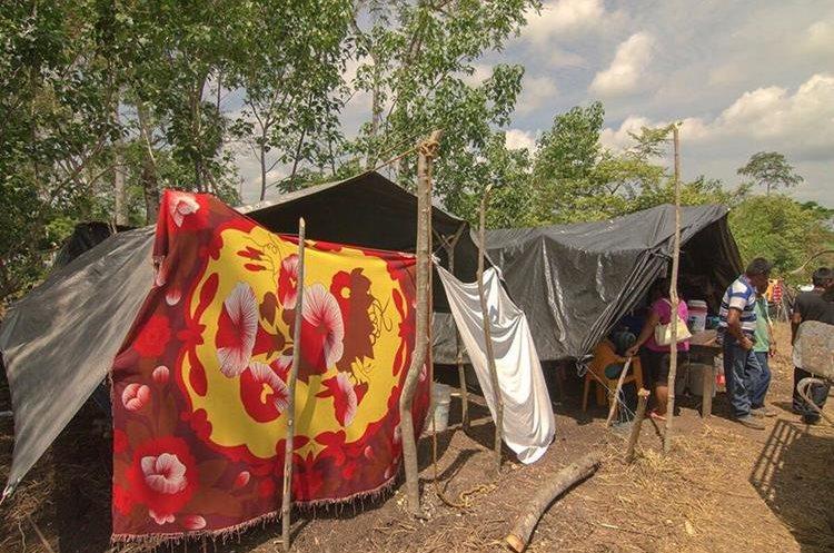 Las condiciones en las que viven en México son inhumanas. (Foto Prensa Libre: Rigoberto Escobar)
