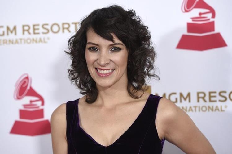La guatemalteca Gaby Moreno podría ganar su primer Grammy anglosajón. Antes ya ganó el Grammy Latino. (Foto Prensa Libre: AP).